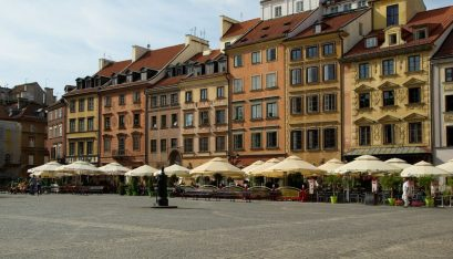 Spend weekend in Warsaw
